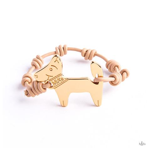 bracciale oro dog oro