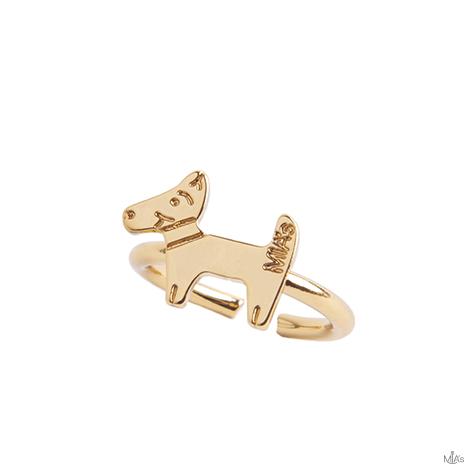 anello dog oro