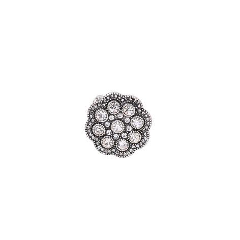 anello fiore argento mias vintage donna