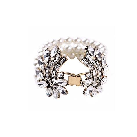 bracciale perle chiusura gioiello mias vintage