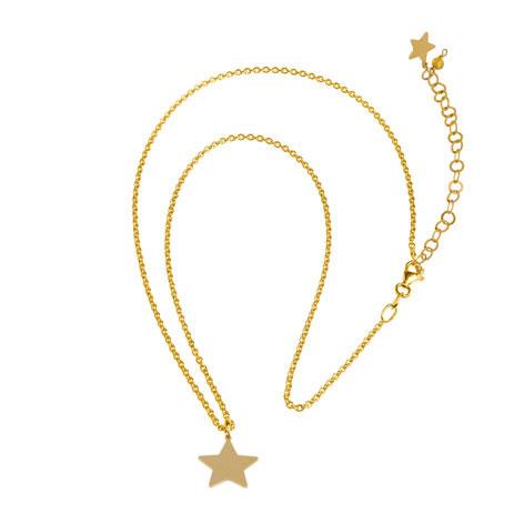 collana catena oro stella oro mias vintage