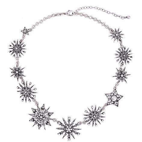 collana girocollo stelle argento-mias- vintage