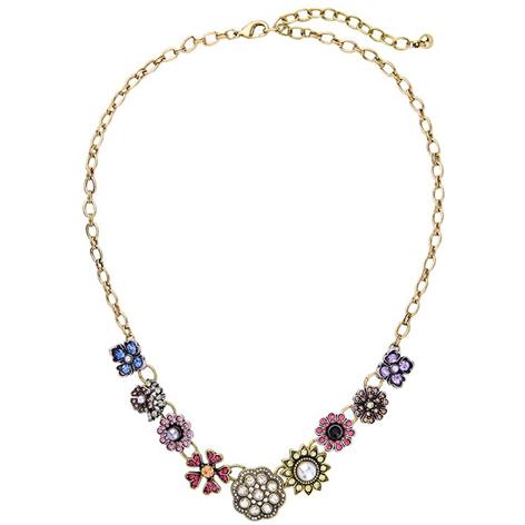 collana fiori colorati