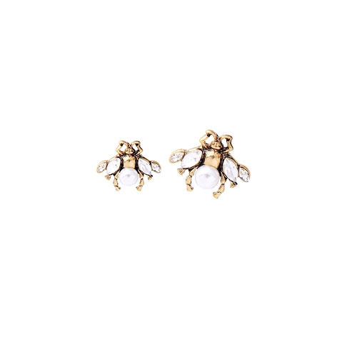 orecchini ape lobo perla mias vintage