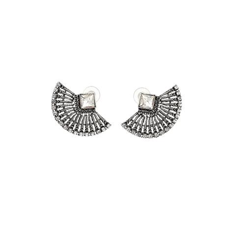 orecchini ventaglio argento