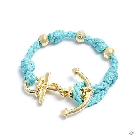 tiffany bracciale love boat ancora oro